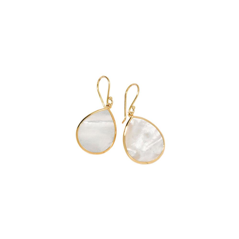 Mother-of-Pearl Teardrop Earrings