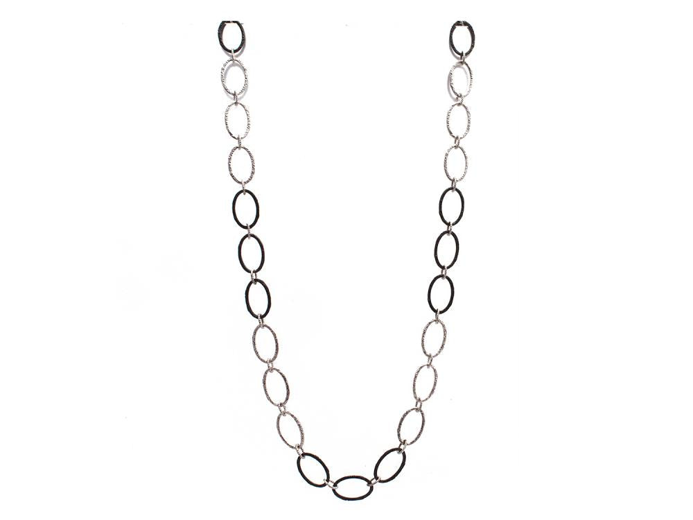 Stslvr Large Oval Link Necklace