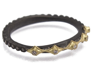 Stslvr? Champagne Diamond Old World Ring