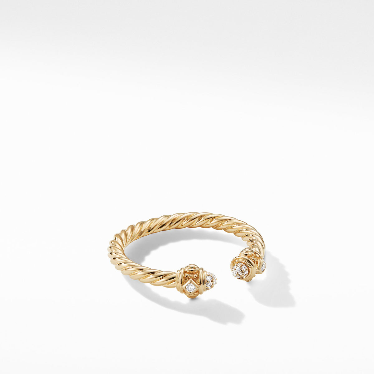 Renaissance Ring in 18K Gold with Diamonds
