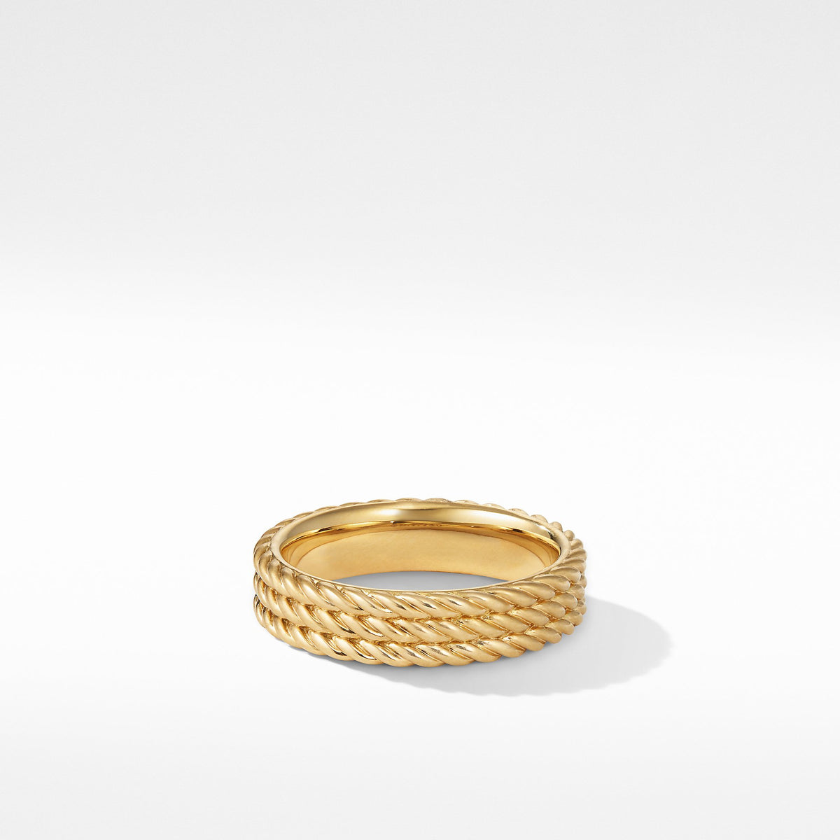 Maritime Rope Band Ring in 18k Yellow Gold