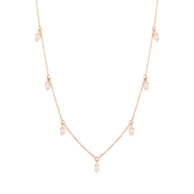 Sophia Ryan Marquise Station Necklace