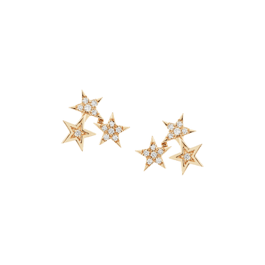 Julianne Himiko Trio Star Studs