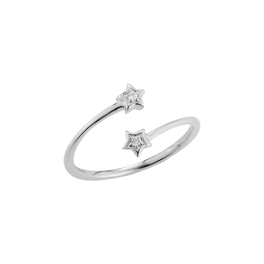 Julianne Himiko Star Bypass Ring