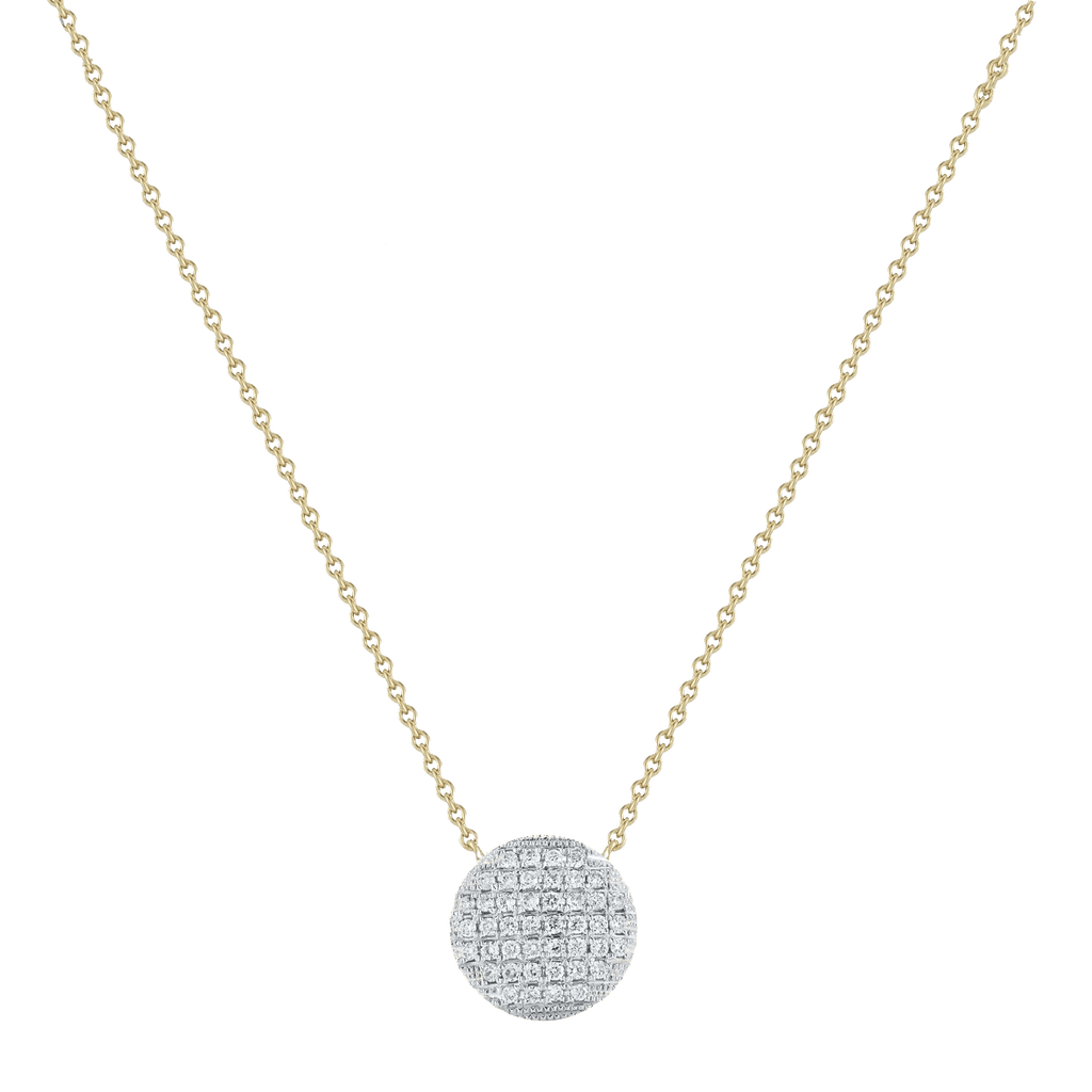 Lauren Joy Large Disc Necklace