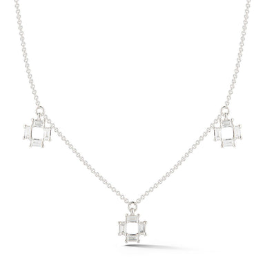 Sadie Pearl Station Necklace