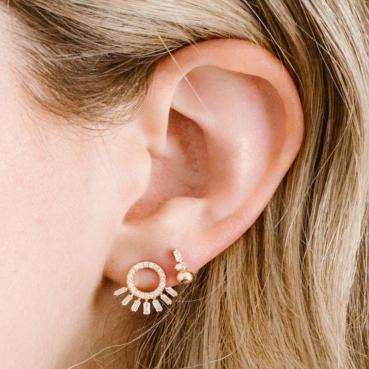 Sadie Pearl Stud Earrings