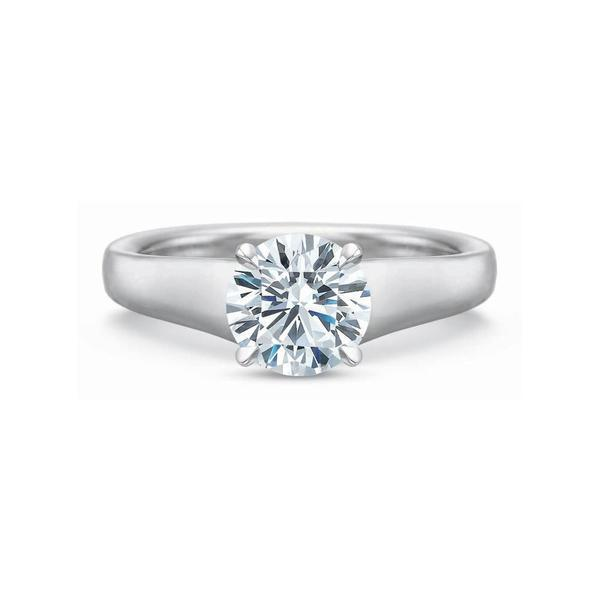Exclusive Modern Solitaire Setting