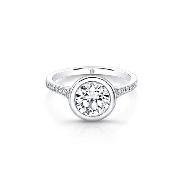 Bezel Set Forevermark Ring