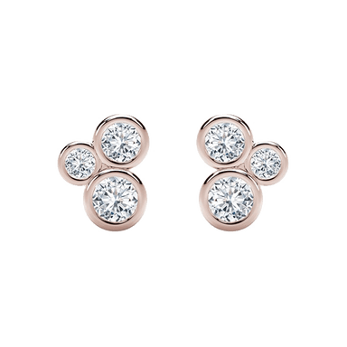 Diamond Tribute Collection Bubble Studs