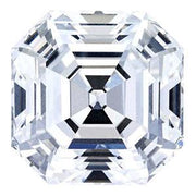 0.55 Carat Asscher Diamond D Color SI1 Clarity