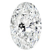 1.01 Carat Oval Diamond D Color VS1 Clarity