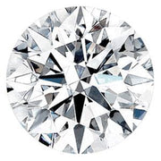 0.54 Carat Round Diamond E Color VVS1 Clarity