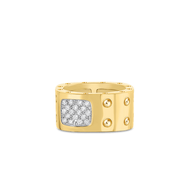 Pois Moi Double Square Ring