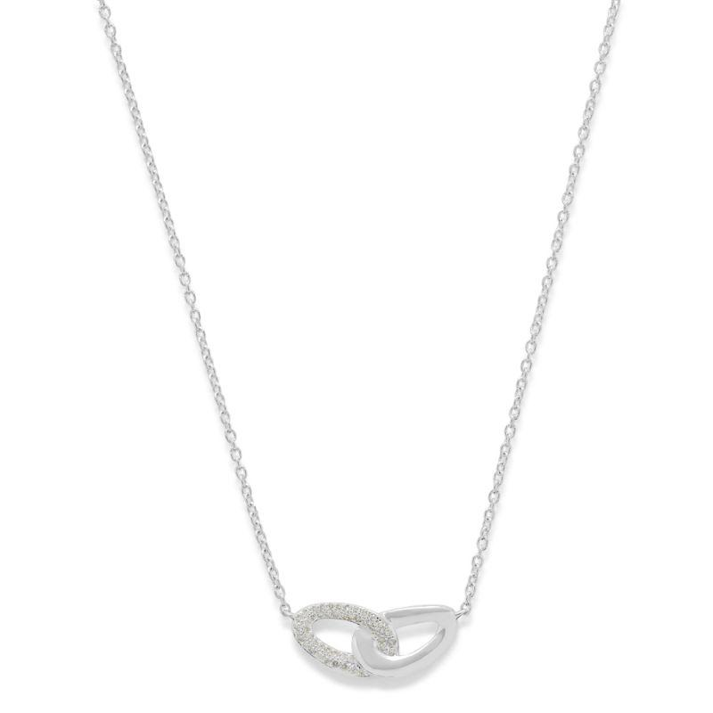 Cherish Bond Pendant Necklace with Diamonds