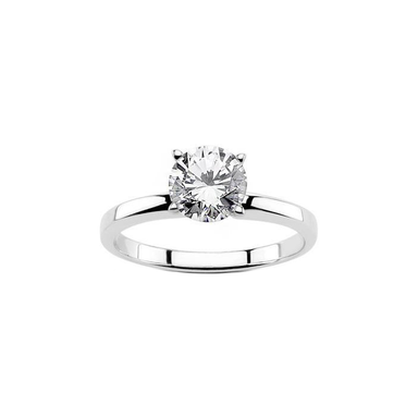 Round Forevermark Solitaire Ring