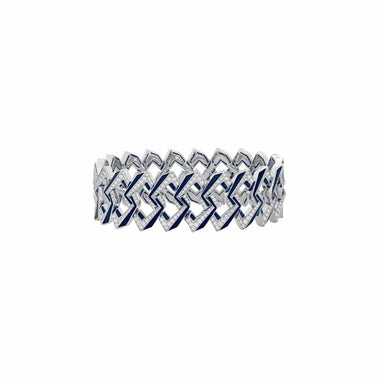 VERTIGO IMPOSSIBLE LINK BRACELET White Gold