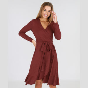 3RD Story TIZI L/S Wrap Around Dress - 1121