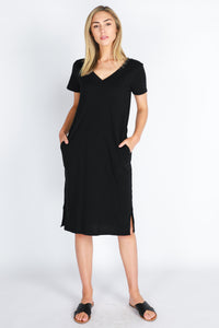 3RD Story HEIDI Midi Dress with POCKETS !