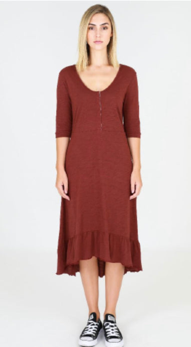 3RD Story NOOSA Dress Mid Sleeve - 1111