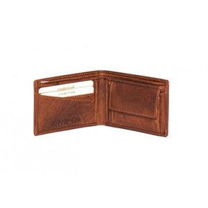 Rugged Hide Mens COMPACT WALLET with RFID Protection RH-55