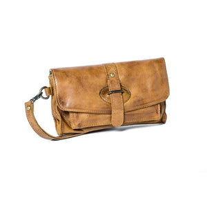 Rugged Hide AMELIA Soft Leather Wallet / Clutch / Sling Bag RFID Protection