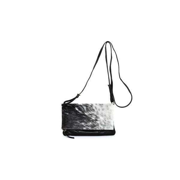 Rugged Hide Danni Leather and Hide Clutch/Sling Bag RH-0671