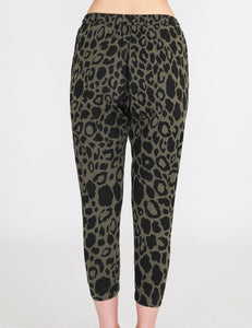 SAT + SUN by 3RD Story LEOPARD Joggers