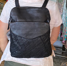 Load image into Gallery viewer, Rugged Hide STELLA Convertible Backpack/Crossbody Bag