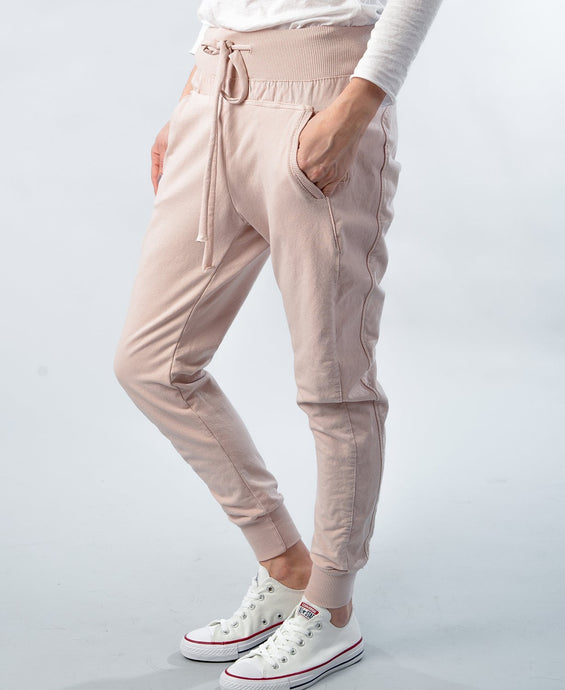 SuzyD London ULTIMATE JOGGERS || Pale Pink
