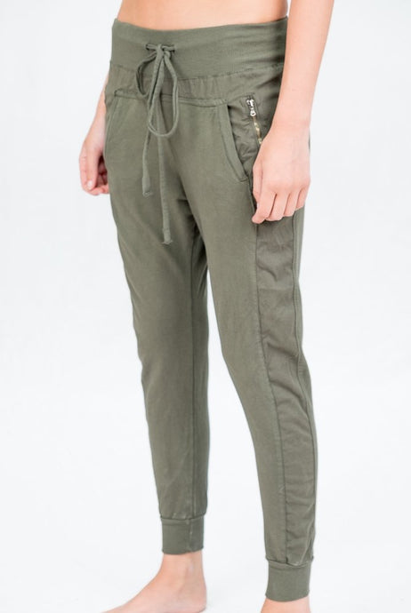 SuzyD London ULTIMATE JOGGERS || LIght Khaki