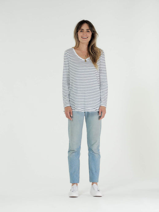 CLÉ Organics HARPER Long Sleeve Top