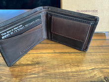 Load image into Gallery viewer, Rugged Hide Mens COMPACT WALLET with RFID Protection RH-55