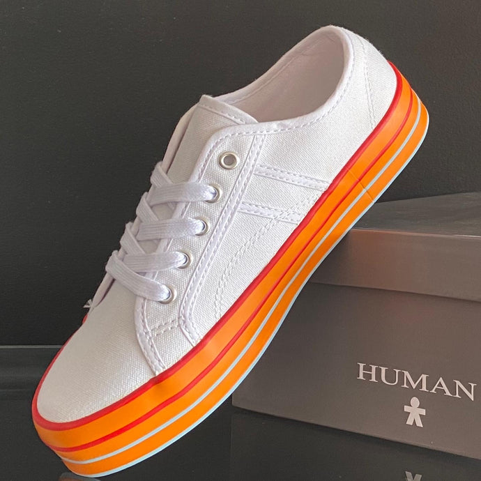 Human Tex Canvas Sneakers