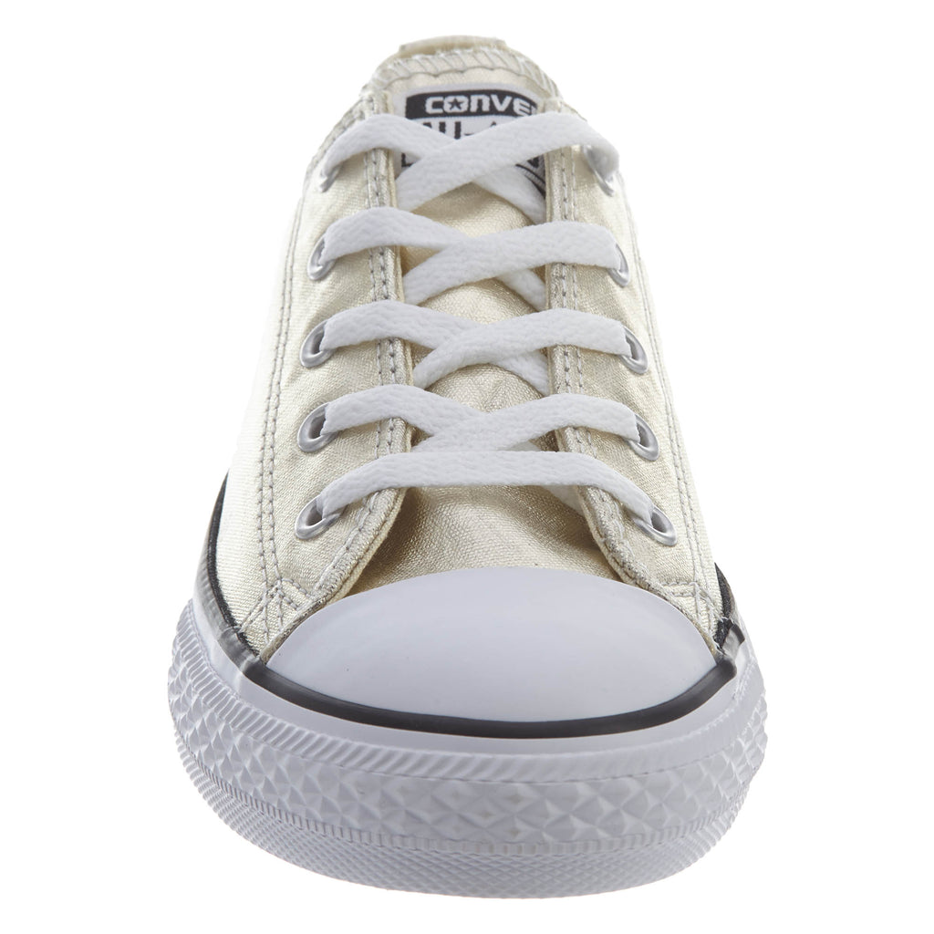 Converse Chuck Tailor All Star Ox Little Kids Style   353181f-LIGHT GOLD  WHITE 993f08655