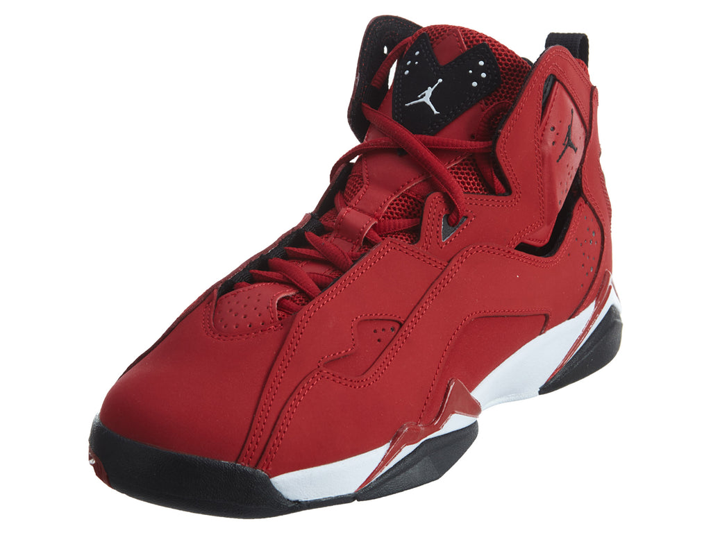 a06422baf8ba64 Air Jordan True Flight Gym Red Black White Boys   Girls Style  343795