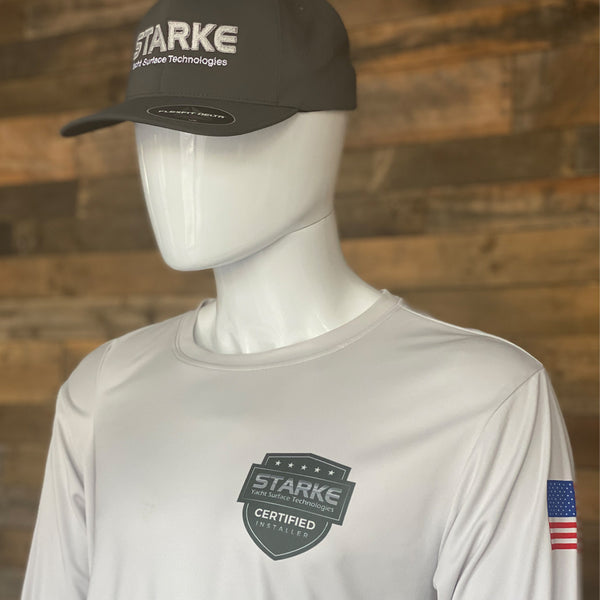 Starke DriFit Long Sleeve Shirt - Certified Installer