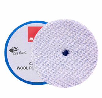 Rupes BigFoot Course Wool Orbital Polishing Pad