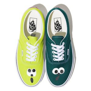 "CHARR x ASTERISK TWO TONES VANS ERA ""GREEN / LIME"""