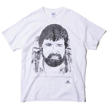 "GREGORY ""YOU DON'T CARRY A GREGORY, YOU WEAR IT."" WAYNE GREGORY PORTRAIT T-SHIRT (WHITE)"