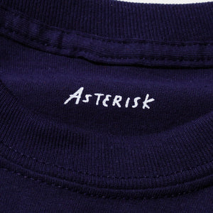 "ASTERISK ""安利 ON LEE"" L/S T-SHIRT (NAVY)"
