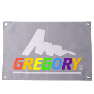 GREGORY LOGO FLAG (RAINBOW LETTER)