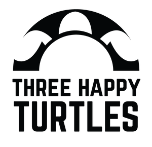 Three Happy Turtles