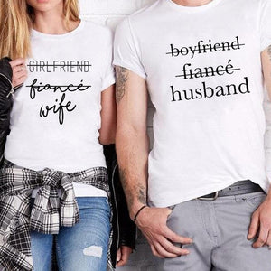 Couples Husband Wife Tshirts