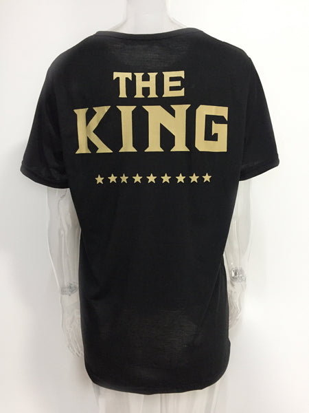 King Queen Lovers Tee T Shirts