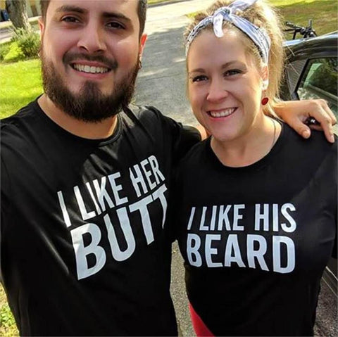 Couples Funny Matching T-shirts
