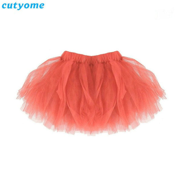 Mother Daughter Tulle Cute Tutu Skirt