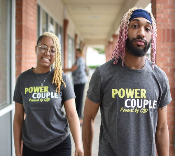 Power couple t shirts