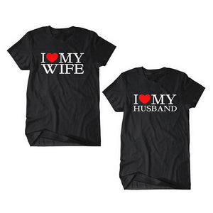 Husband And Wife Tshirts