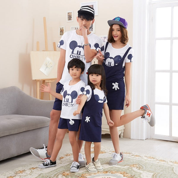 Family Matching Mickey Mouse Fits